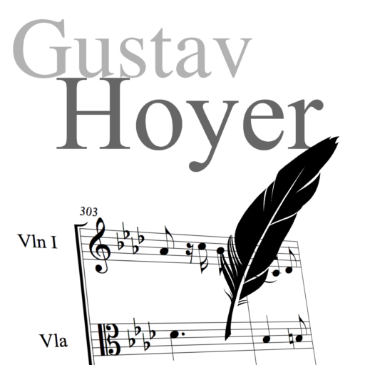 Gustav Hoyer, Composer